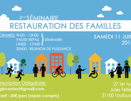 Deuxième Séminaire de Restauration à Toulouse